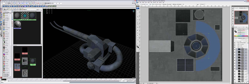 Part 2: UV Mapping and Photoshop | Cadenza Interactive